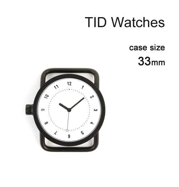 人気の 【ティッドウォッチズ No.1 文字盤 33mm TID Watches】 No.1 Collection 33mm 腕時計 文字盤 ブラックケース/ホワイトダイアル・148432-3701801【メンズ】【レディース】【1F-W】, 玖珂郡:41d30778 --- canoncity.azurewebsites.net