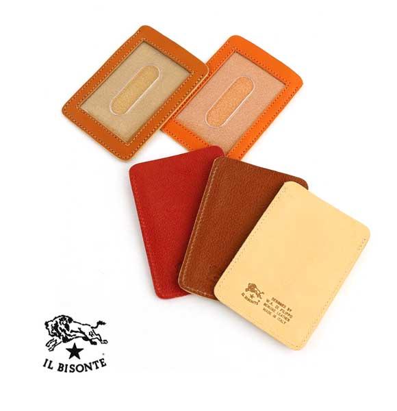 割引 イルビゾンテ いつでも送料無料 パスケース メール便可能商品 国内正規品 IL BISONTE レザー カードケース M便 5 定期入れ レディース メンズ 1 411618-0062001