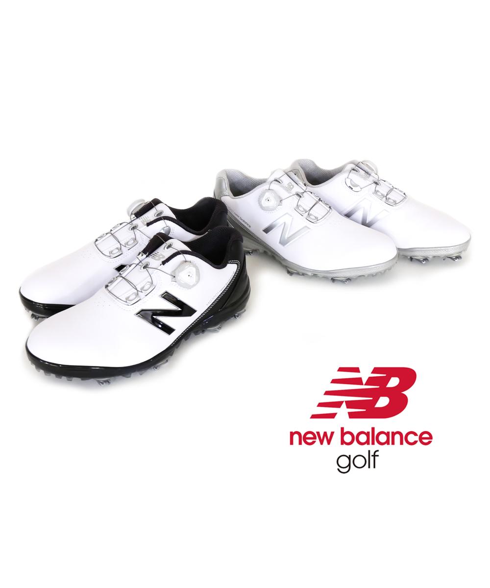 【E-2】【ニューバランス new balance】GOLF メンズ 防水 ダイヤル式 ゴルフシューズ スパイク MG1001・MG1001-4061802【メンズ】【■■】【クーポン対象外】