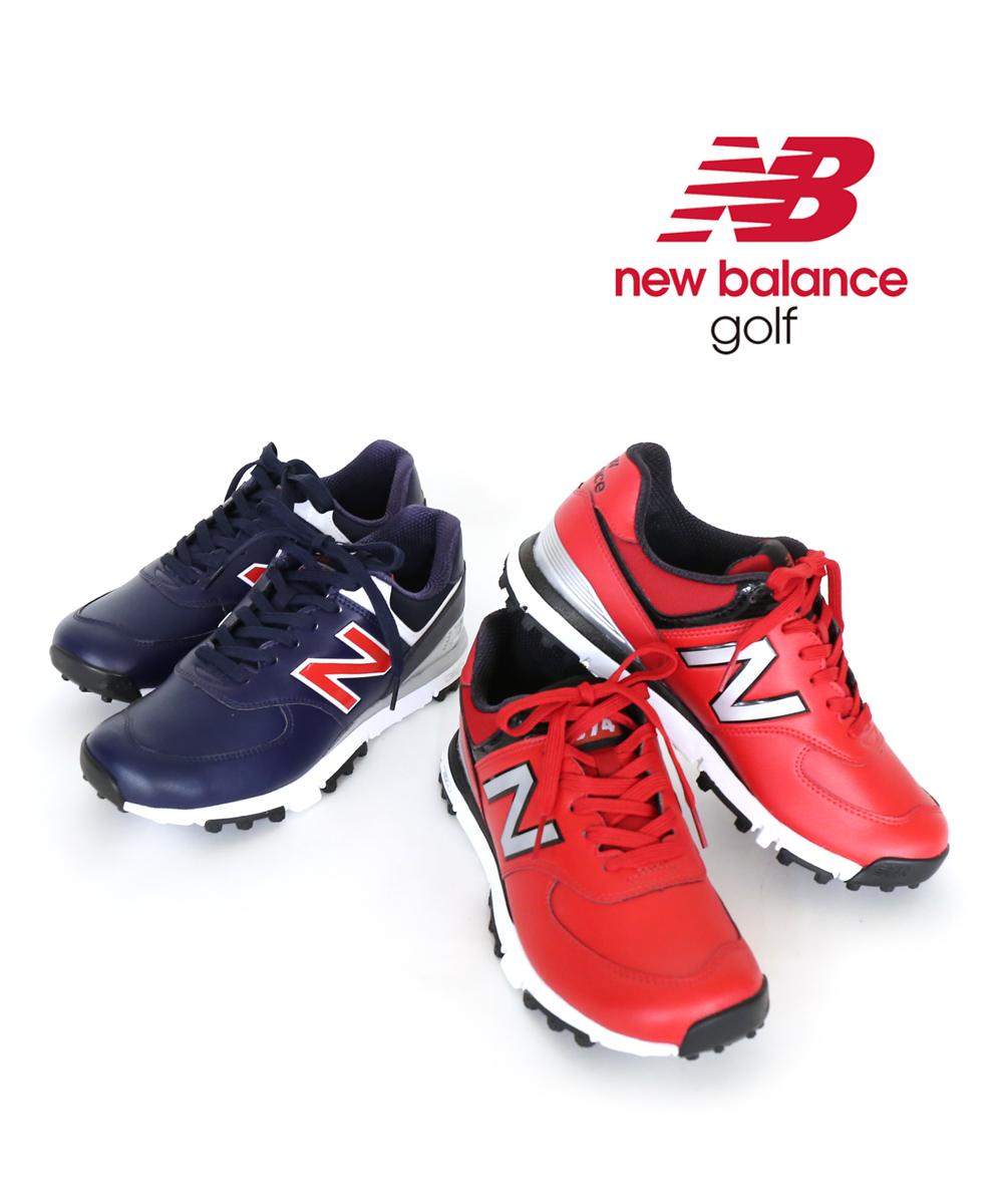 【E-2】【ニューバランス new balance】GOLF スパイクレス シューレース ゴルフシューズ MGS574・MGS574-4061802【メンズ】【レディース】【■■】【クーポン対象外】