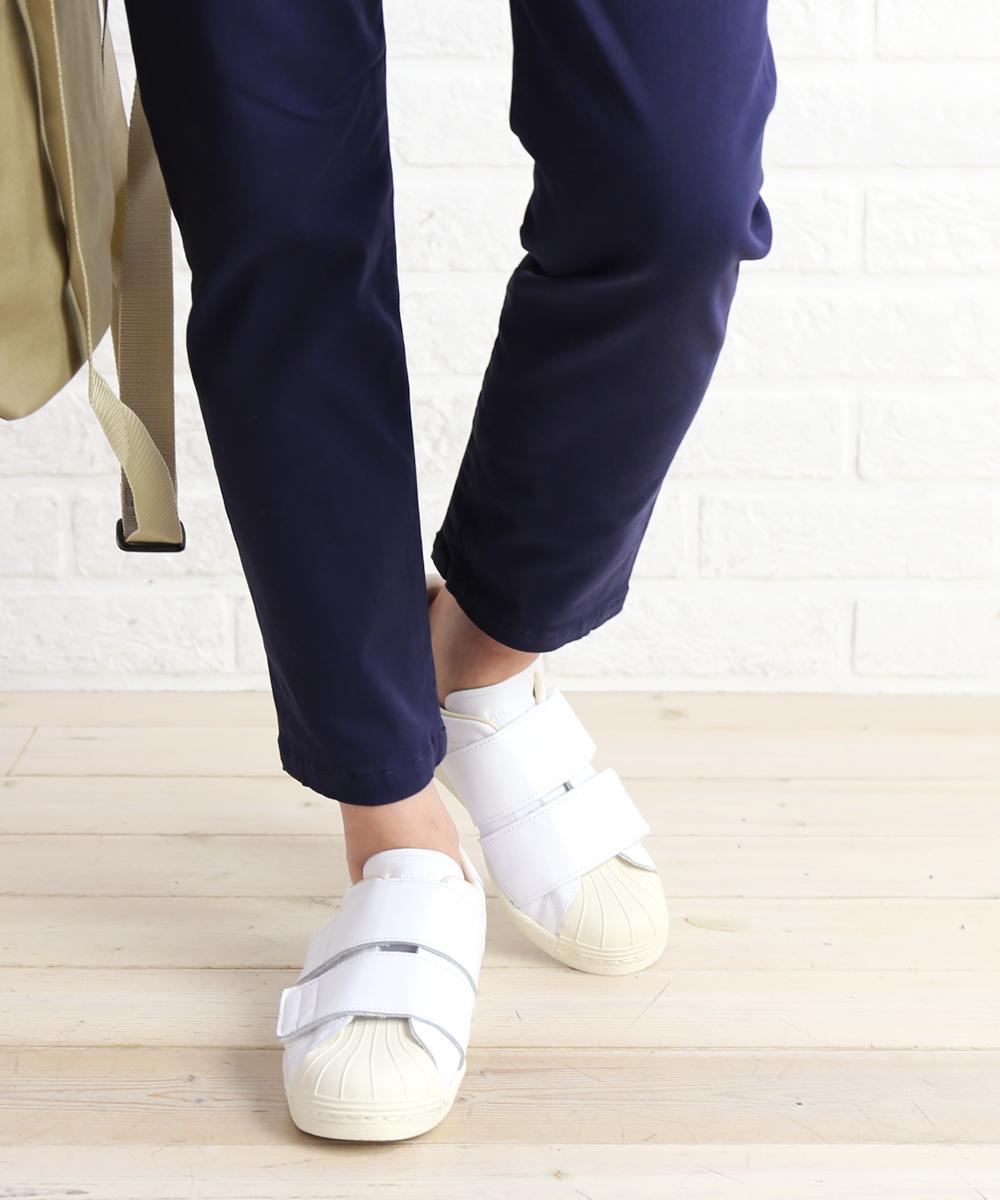 【アディダス adidas】レザー ベルクロ スニーカー SS 80s VELCRO W・CQ2447-0121802【レディース】【B-1】【◎】