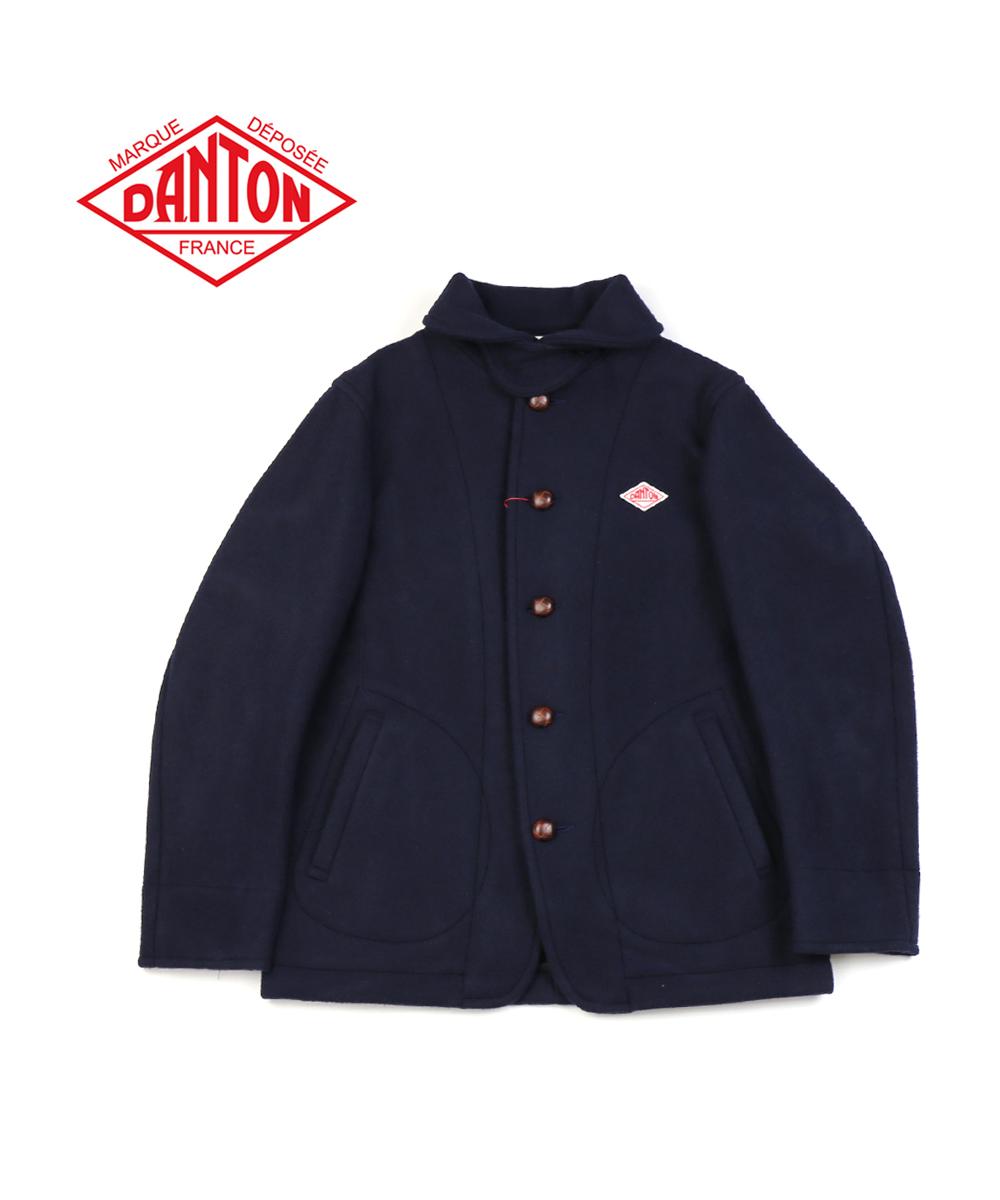 【ダントン DANTON】ウールモッサ ラウンドカラー メンズ シングル ジャケット・JD-8237WOM-0321802【メンズ】【JP】【■■】【クーポン対象外】