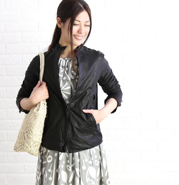 【シシ Sisii】カウレザー シングル レザージャケット ライダースジャケット・907JL-2821901【レディース】【JP】