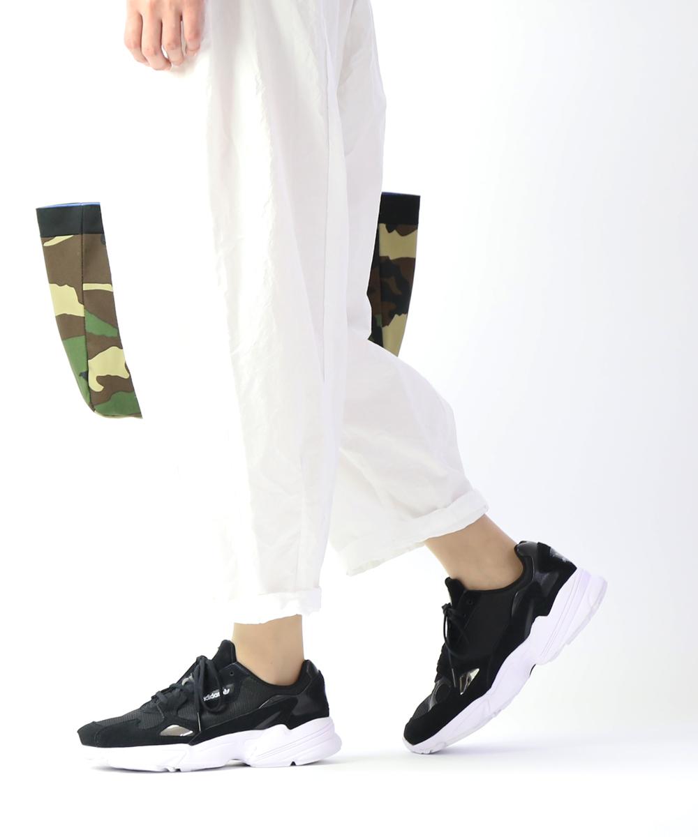 【アディダス adidas】オリジナルス メッシュ×スエード スニーカー ダッドシューズ ランニングシューズ FALCON W ファルコン・B28129-0122001【レディース】【◎】