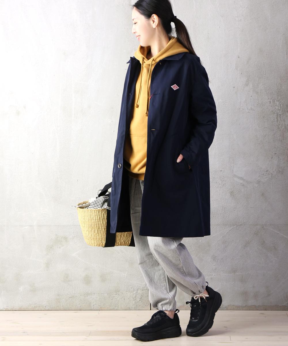【ダントン DANTON】ポリエステル ダブルクロス シャツカラー コート・JD-8912PDF-0321901【レディース】【■■】【クーポン対象外】【JP】
