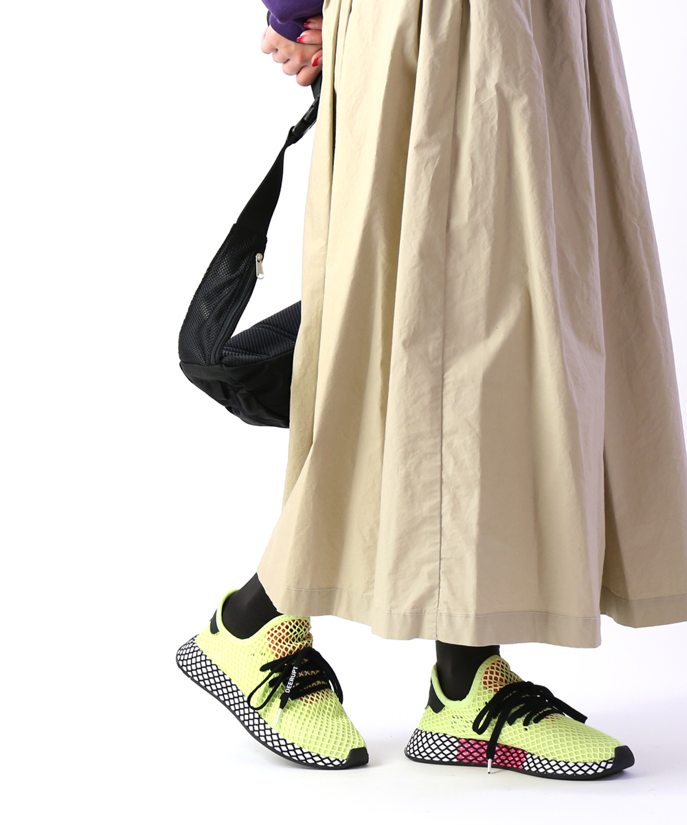 【D-4】【アディダス adidas】オリジナルス 軽量EVAミッドソール メッシュ スニーカー ディーラプト DEERUPT RUNNER・CG5943-0121901【レディース】