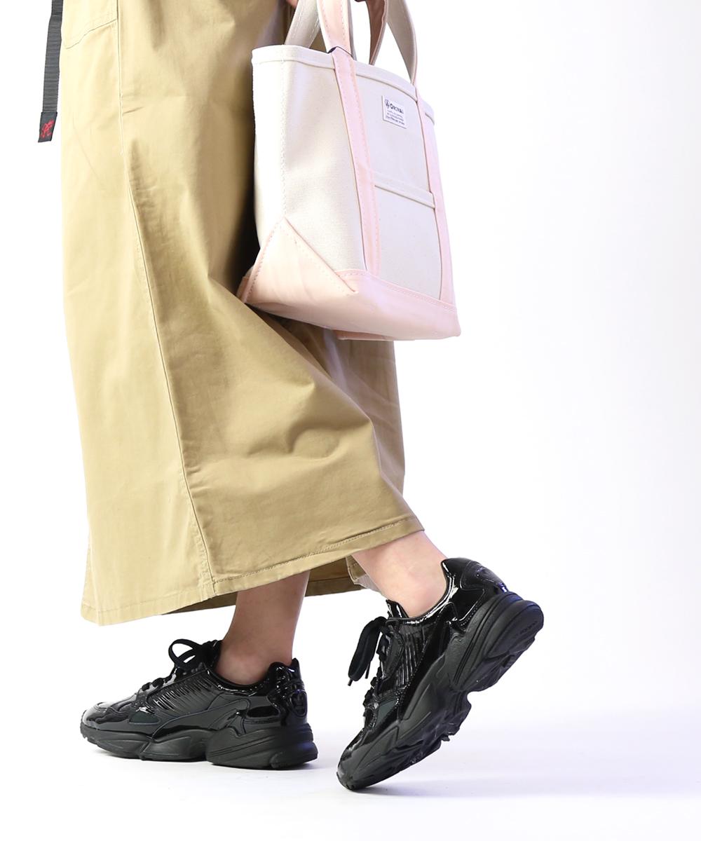 【D-4】【アディダス adidas】オリジナルス パテントレザー スニーカー ダッドシューズ ランニングシューズ ファルコン FALCON W・CG6248-0121901【レディース】【◎】