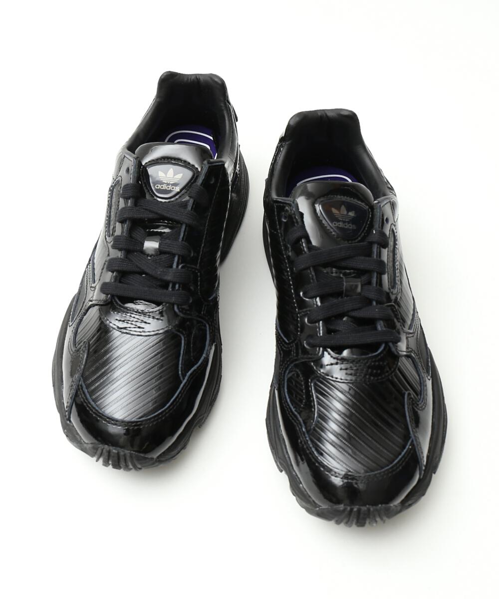 c70d3705b1 low priced 87188 1f098 adidas falcon triple black cg6248 dam ...