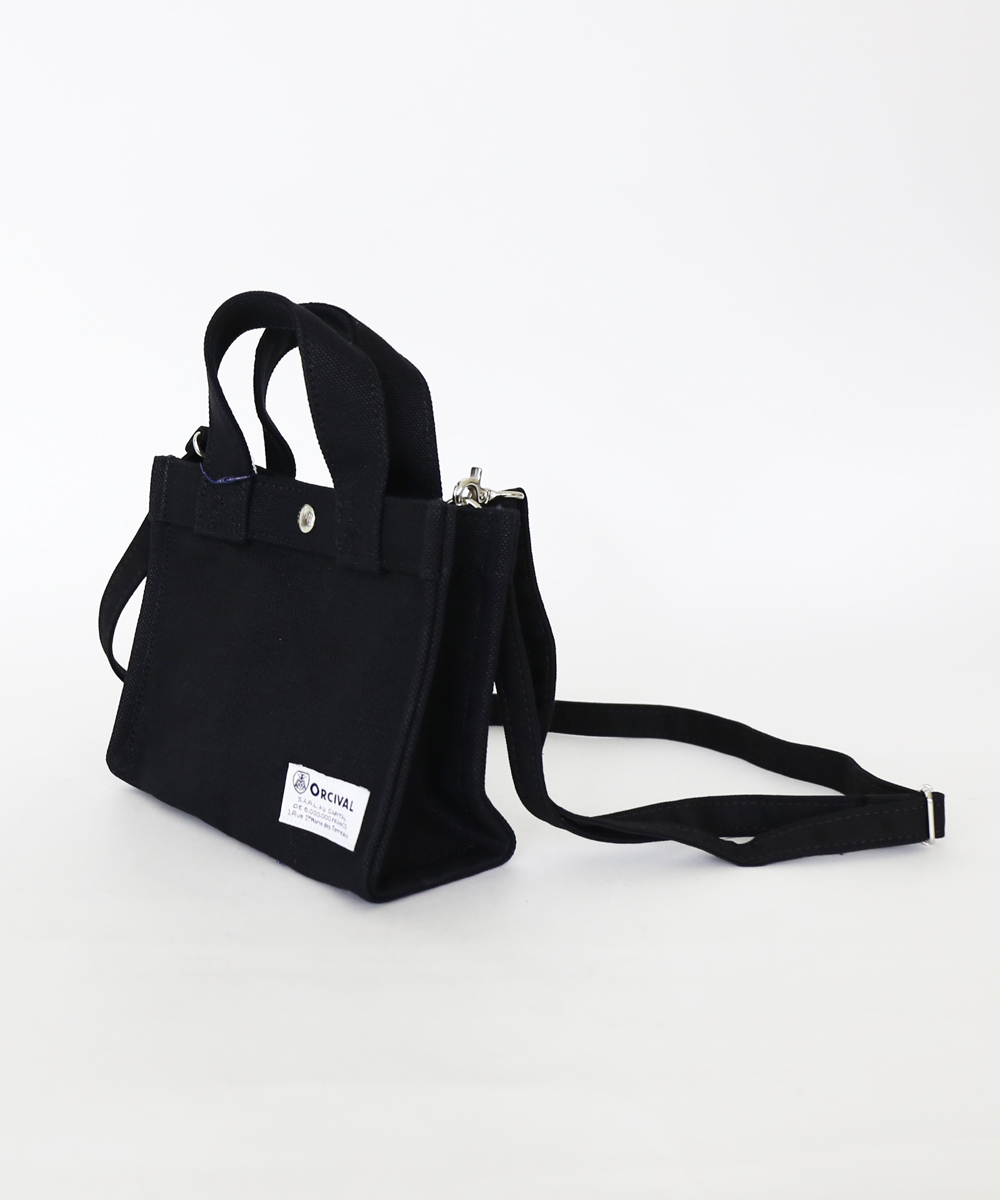 6d18651e7 Cotton canvas 24oz canvas square mini-tote bag shoulder bag. RC-7154HVC.  Item Images. ORCIVAL(オーチバル・オーシバル)・RC-7154HVCの詳細画像