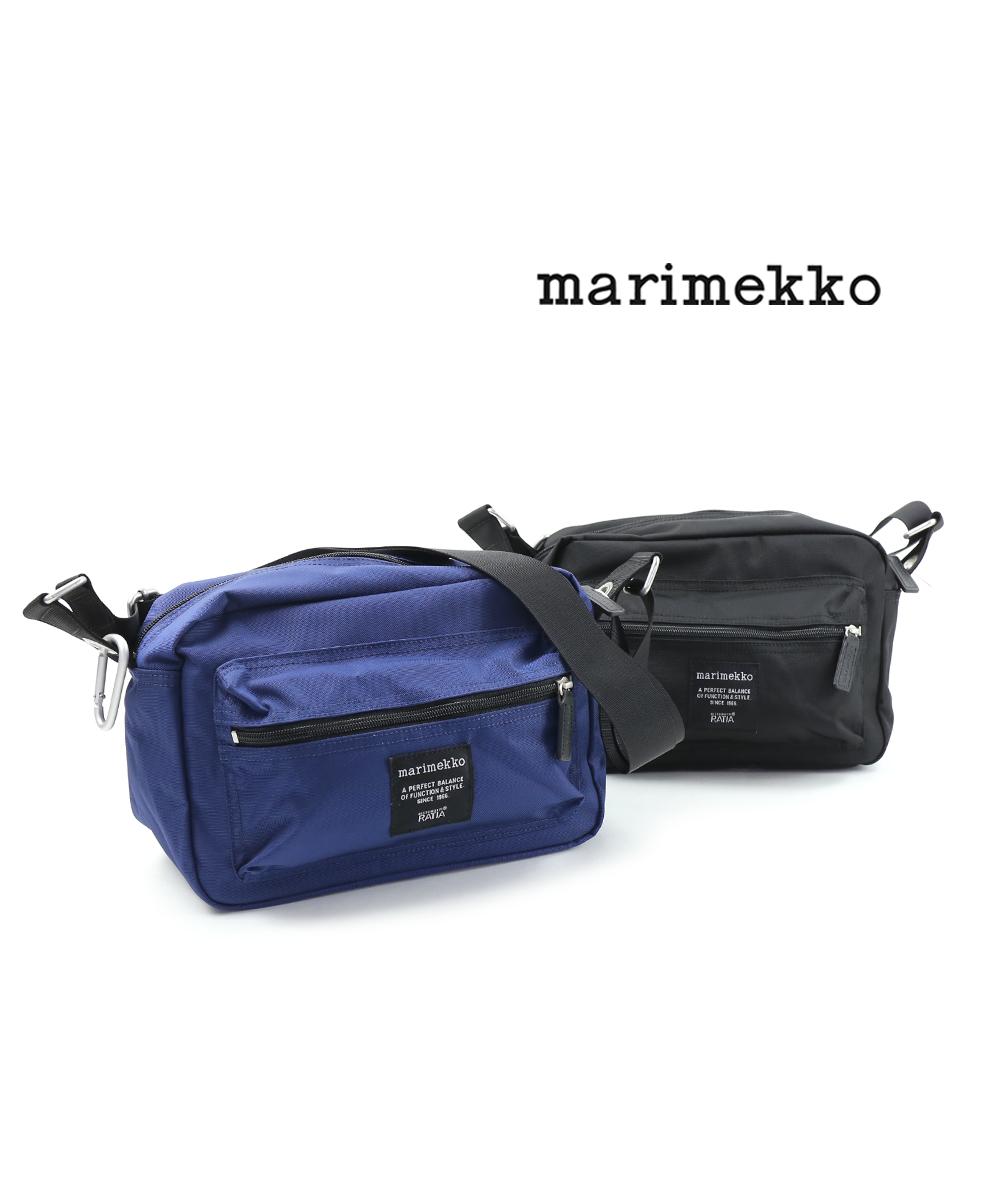【マリメッコ marimekko】 カラビナ付き ショルダーバック MY THINGS・52193247241-0061901【メンズ】【レディース】
