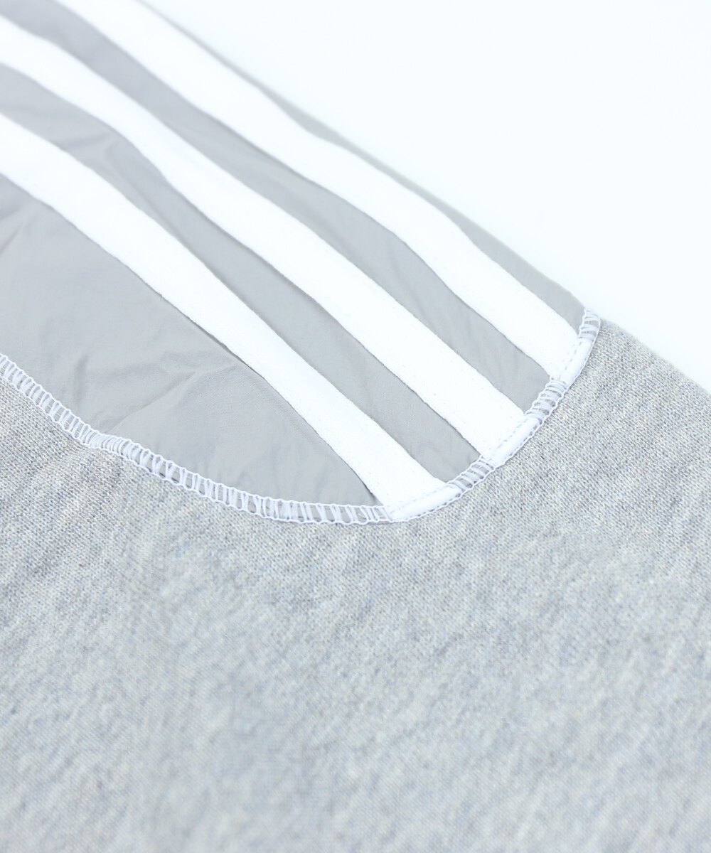 アディダス adidas オリジナルス コットンフレンチテリー ウーブンパネル クルーネック スウェットプルオーバー クルーネックトップス ORIM RADKIN CREWNECK・FUF08 0121901 レディースlast 1shQtrdC