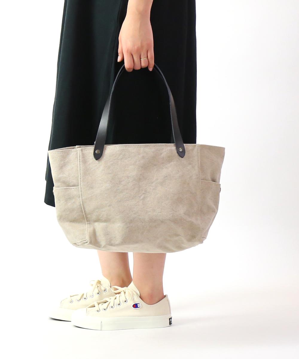 【タンピコ TAMPICO】コットンストーンウォッシュ トートバック BOSTON 2019 bag cotton stone wash・4323-CSW-3611901【レディース】【◎】