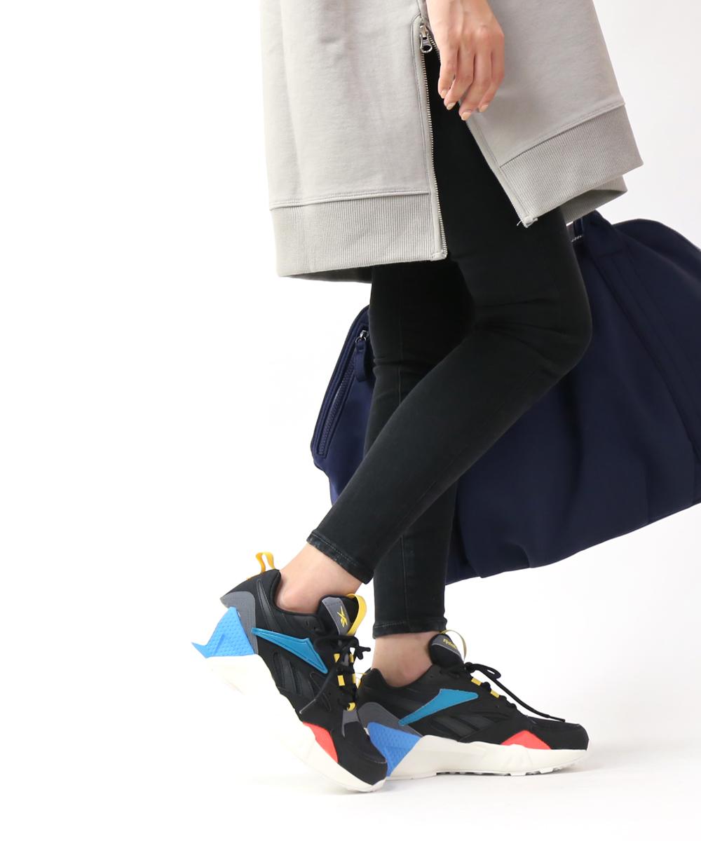 【A-1】【リーボック Reebok】メッシュ ランニング スニーカー AZTREK DOUBLE NU POPS アズトレックダブル・DV8172-0121902【レディース】【last_1】