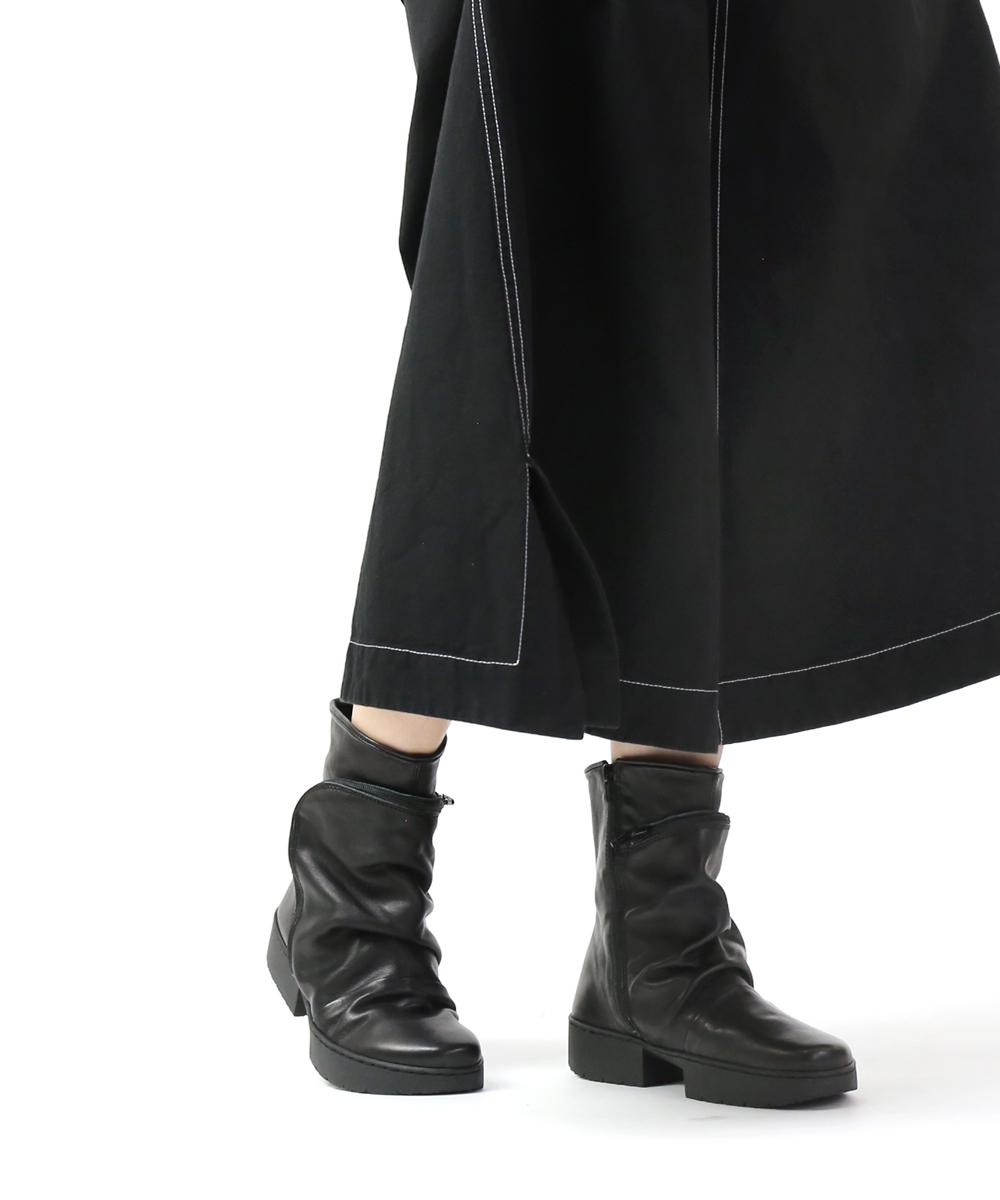 【トリッペン TRIPPEN】レザー ショートブーツ ポケット付きブーツ クラッチ CLUTCH・CLUTCH-SAT-0071902【レディース】【B-1】【◎】