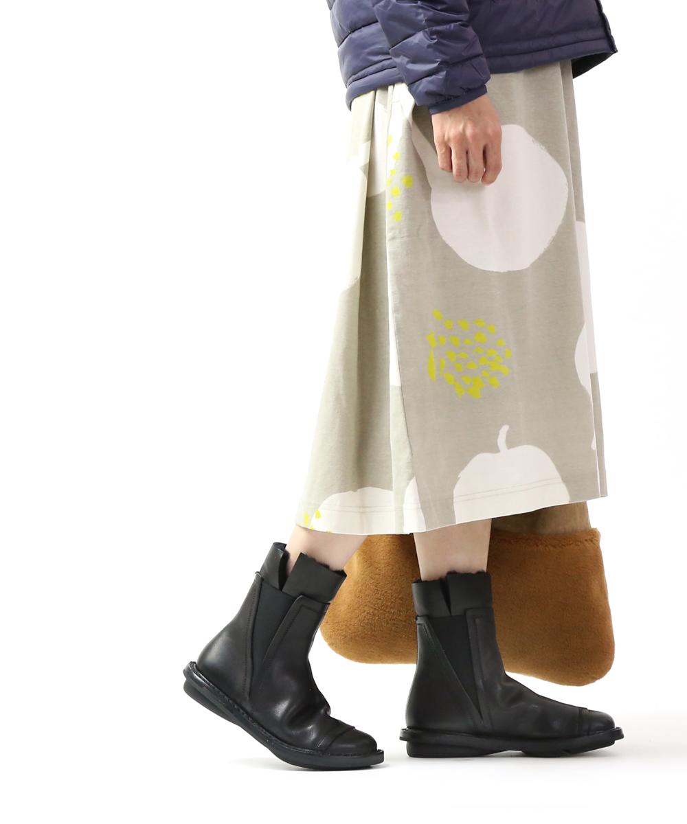 【トリッペン TRIPPEN】カーフレザー×シープスキン サイドゴア ショートブーツ ミドルブーツ プレファブ PREFAB・PREFAB-WA-M-0071902【レディース】【B-1】