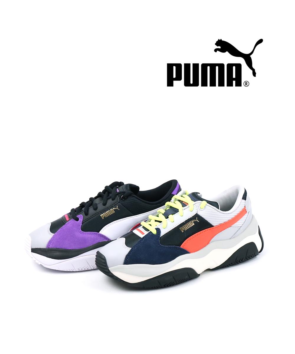 【E-2】【プーマ PUMA】 スニーカー ストーミーウィメンズ・371279-0121902【レディース】