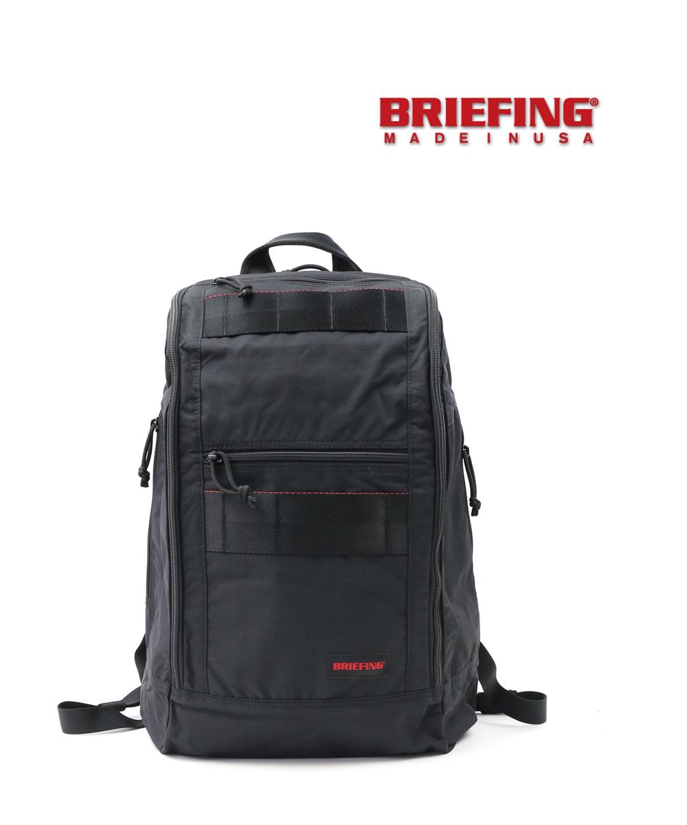 【ブリーフィング BRIEFING】リップストップナイロン バックパック リュック VERTICAL PACK MW バーティカルパックMW・BRM183101-4301902【メンズ】【レディース】