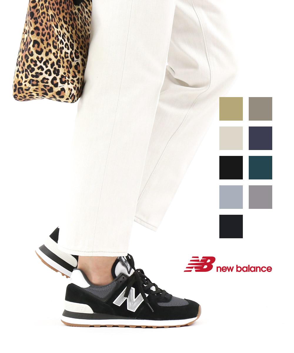 【ニューバランス new balance】スエード メッシュ ヴィンテージ ランニングシューズ スニーカー ML574・ML574-2532001【レディース】【JP】【◎】