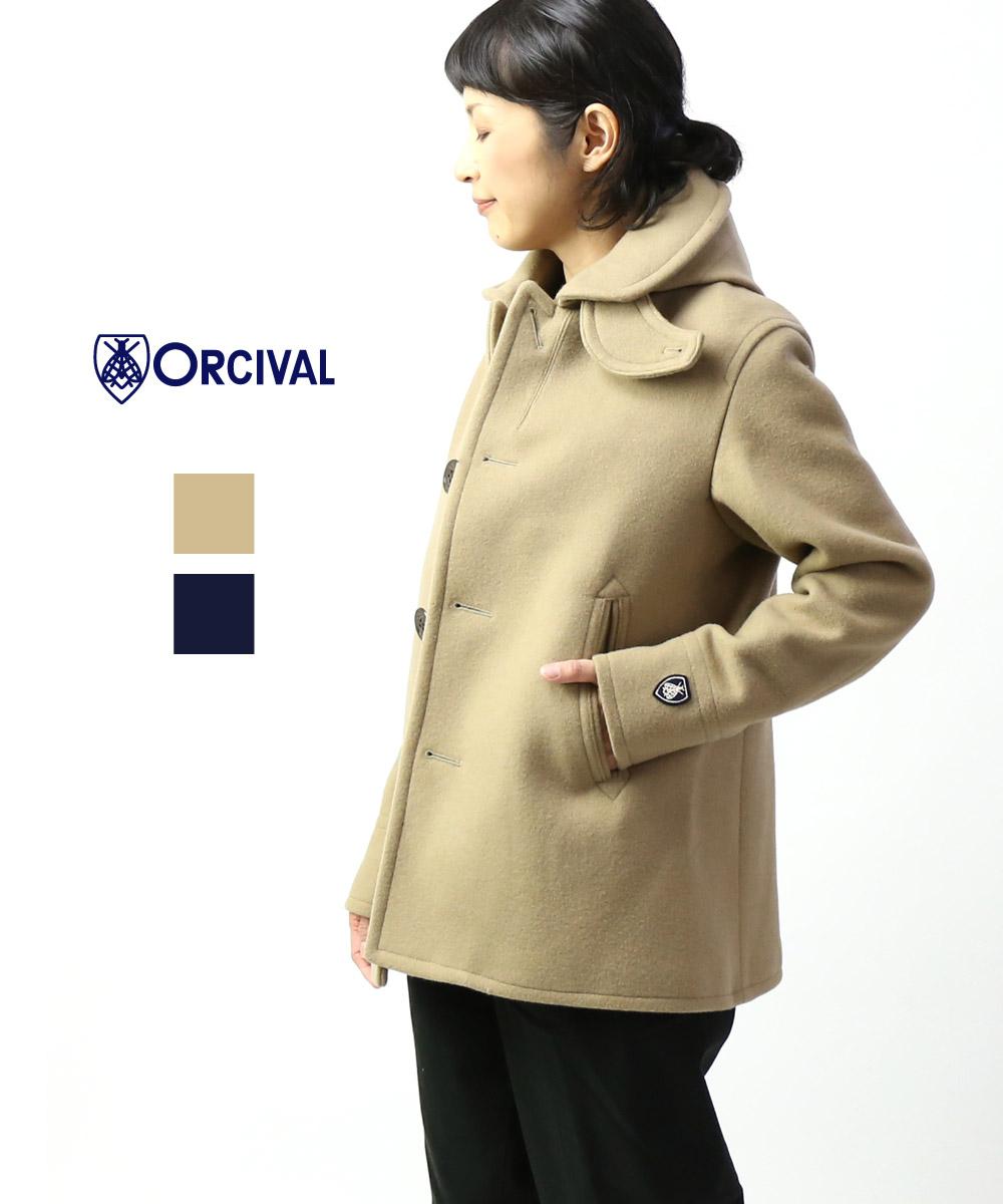 【オーチバル・オーシバル ORCIVAL】ジーロンラムメルトン フード付き シングルジャケット フードジャケット・RC-8362MGL-0321902【レディース】【JP】