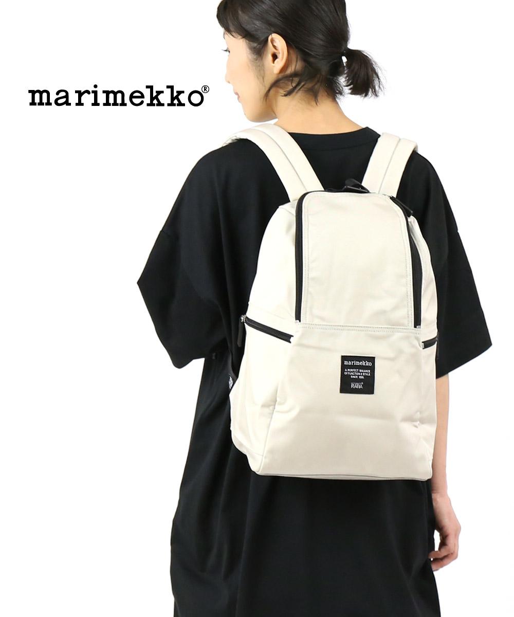 【マリメッコ marimekko】ナイロン デイパック リュック バックパック メトロ METRO・52193248363-0062001【メンズ】【レディース】