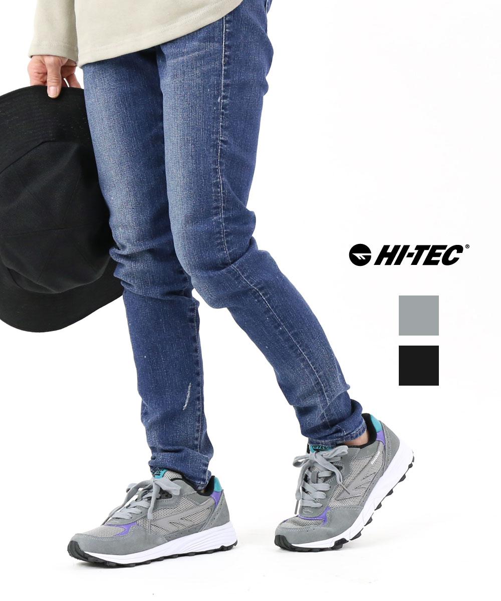 【30%OFF】【D-2】【ハイテック HI-TEC】メッシュ×スウェード スニーカー 靴 ランニングシューズ トレーニングシューズ シャドウTL SHADOW TL・SHADOW-TL-3242001【メンズ】【レディース】