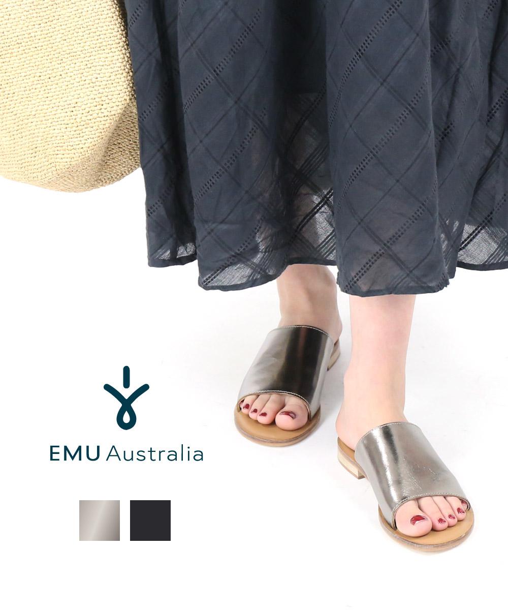 【エミュ オーストラリア EMU Australia】レザー フラットサンダル レザーサンダル Minogue・W12291-1542001【レディース】