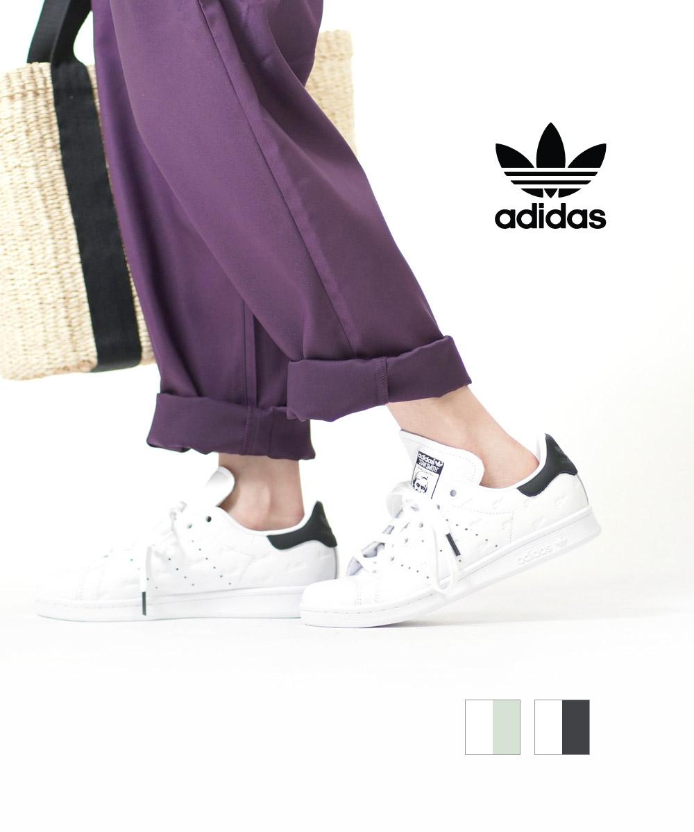 【アディダス adidas】オリジナルス レザー 刻印 スニーカー シューズ 靴 STAN SMITH スタンスミス・EF5009-8-0122001【レディース】【B-1】