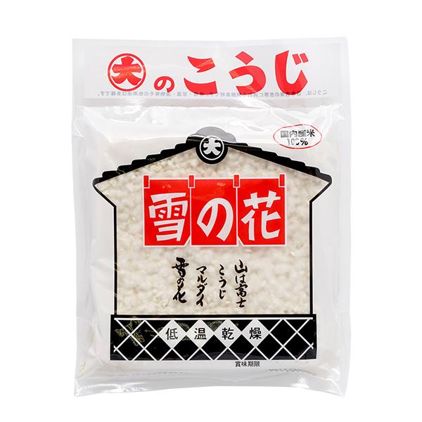 東京で唯一の味噌蔵 信憑 糀屋三郎右衛門 乾燥こうじ 200g 送料無料/新品 雪の花