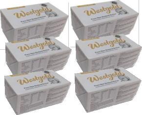 マート NZ産 グラスフェッドバター ウエストランド有塩ポンドバター 冷蔵 ムラカワ 454g×6個セット 上等