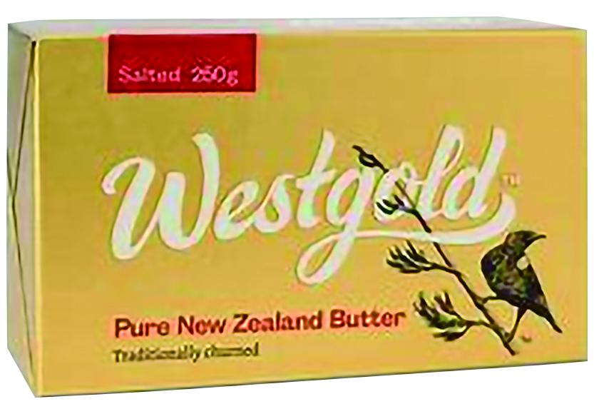 今ダケ送料無料 贈り物 NZ産 グラスフェッドバター ウエストランド有塩バター 250g×8個セット 冷蔵