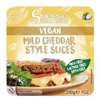 スライスシーズ(植物性チーズ) マイルドチェダースタイル(冷蔵) オーサワジャパン 200g(約10枚)×4個