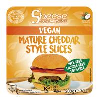 スライスシーズ(植物性チーズ) 熟成チェダースタイル(冷蔵) オーサワジャパン 200g(約10枚)×4個