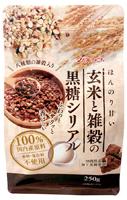 玄米と雑穀の黒糖シリアル オーサワジャパン 250g×6個