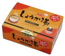 有機生姜使用・しょうが湯・箱入り 20g×18×4個 ムソー