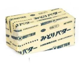 九州乳業 みどりバター(加塩)450gx30(1ケース) 業務用 冷凍
