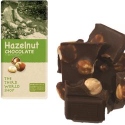 第3世界ショップ フェアトレードチョコ ヘーゼルナッツチョコレート 100gx10個(ケース売り)
