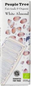 People Tree  ホワイト・アーモンド チョコレート 50gx22(1ケース)alishan