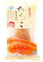 送料無料 冷凍食品 新登場 日本メーカー新品 ムソー 無着色たらこ 60gx2個セット 北海道近海産