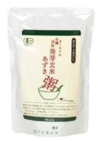 年末年始大決算 玄米とあずきの甘味がおいしい お中元 活性発芽玄米あずき粥 オーサワジャパン 200g