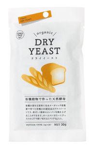 有機穀物使用 予備発酵不要の天然酵母 税込 使い切りタイプ 有機穀物で作った天然酵母 ドライイースト 商品追加値下げ在庫復活 分包 3g×10 風と光 オーサワジャパン 30g