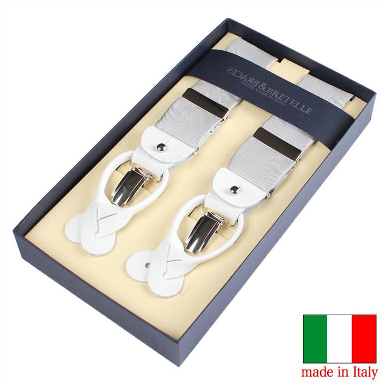 【送料無料】イタリア製サスペンダー ブレーセス サスペンダー イタリア製 ブレーセス 紳士 メンズ 男性用 YA-VAR-039 [ BRETELLE&BRACES シルクサスペンダー イタリア製 ]