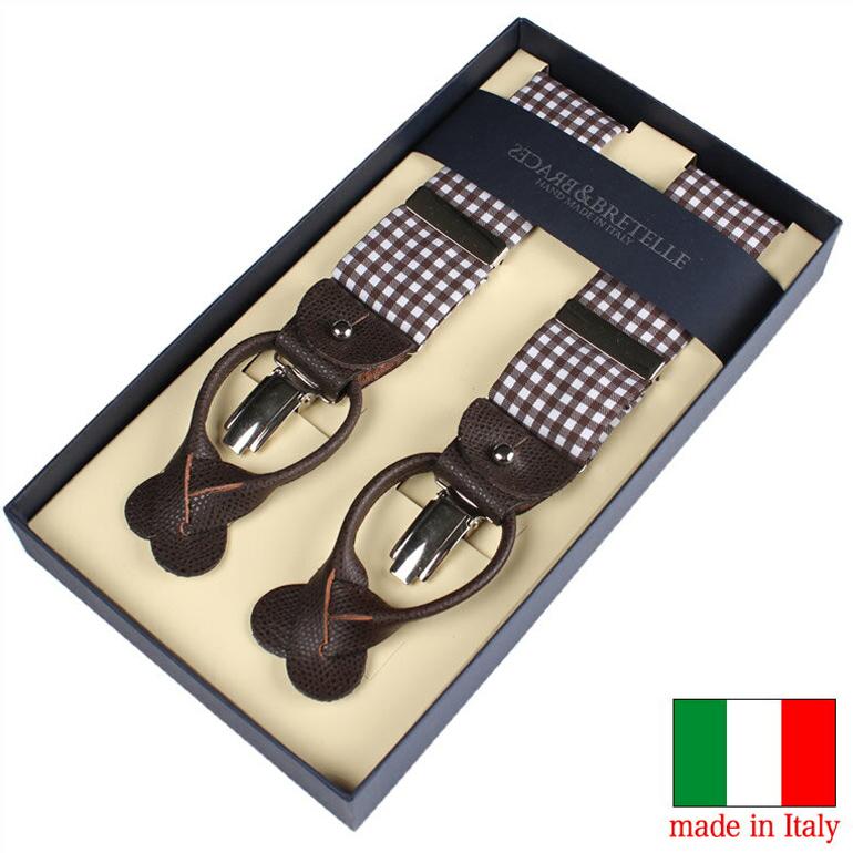 【送料無料】イタリア製サスペンダー ブレーセス サスペンダー イタリア製 ブレーセス 紳士 メンズ 男性用 YA-VART-026 [ BRETELLE&BRACES コットンサスペンダー イタリア製 ]