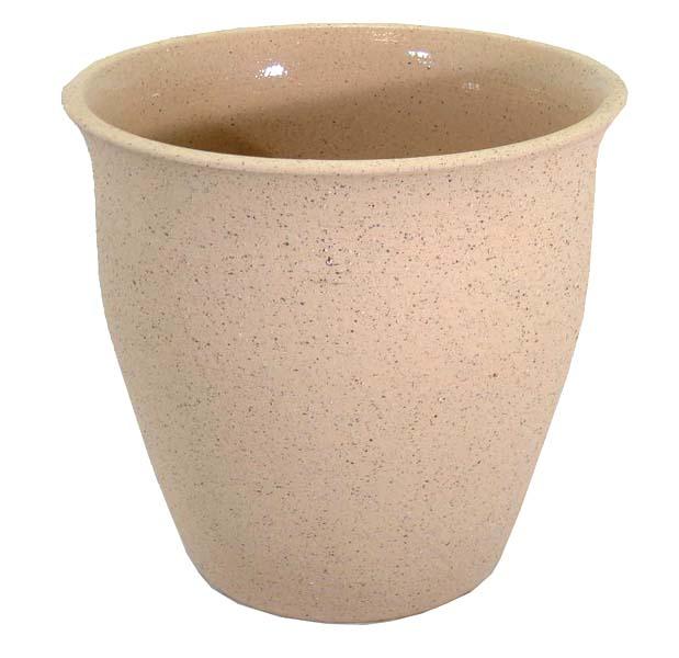 スピカライトブラウン 10号 (信楽焼陶器鉢カバー)