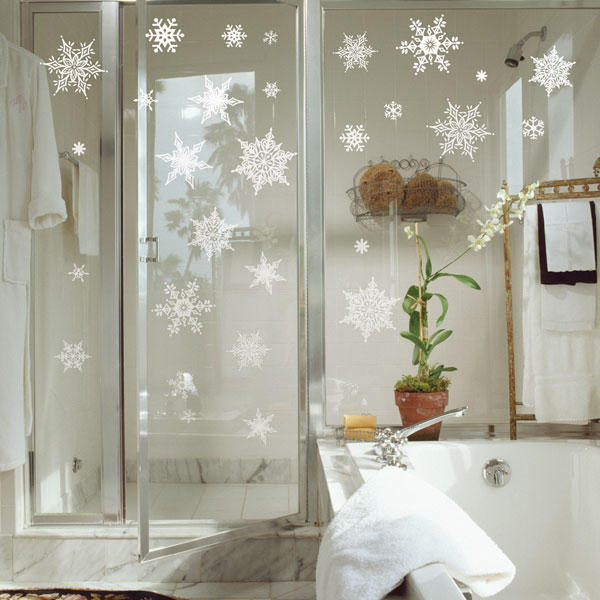 Wall stickers snow Crystal psc-58038: