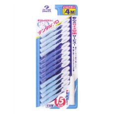 感謝価格 5個セット デンタルプロ 爆安プライス 歯間ブラシ 4 正規品 MサイズX15本入 ×5個セット