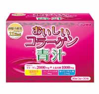 Yuwa delicious collagen blue juice 30 capsule x 6 box set