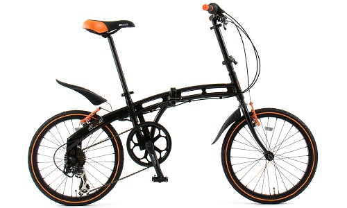 DOPPELGANGER 접이식 자전거 202 blackmax