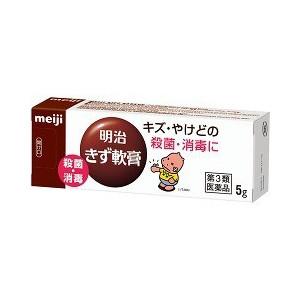 【第3類医薬品】【20個セット】 明治きず軟膏 5g×20個セット 【正規品】