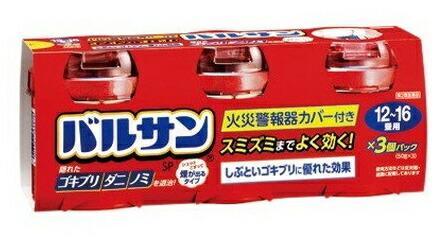 【第2類医薬品】【10個セット】 バルサン(12-16畳用) 40g×3個セット×10個セット 【正規品】