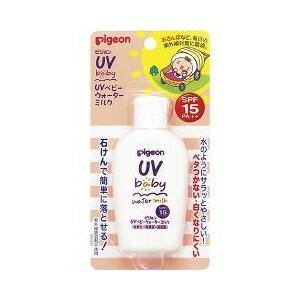 10個セット ピジョン 日本全国 送料無料 UVベビー 安心の定価販売 ウォーターミルク SPF15 ご注文後発送までに1週間前後頂戴する場合がございます k 60g×10個セット 正規品
